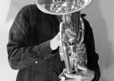 Udo Schindler spielt Euphonium